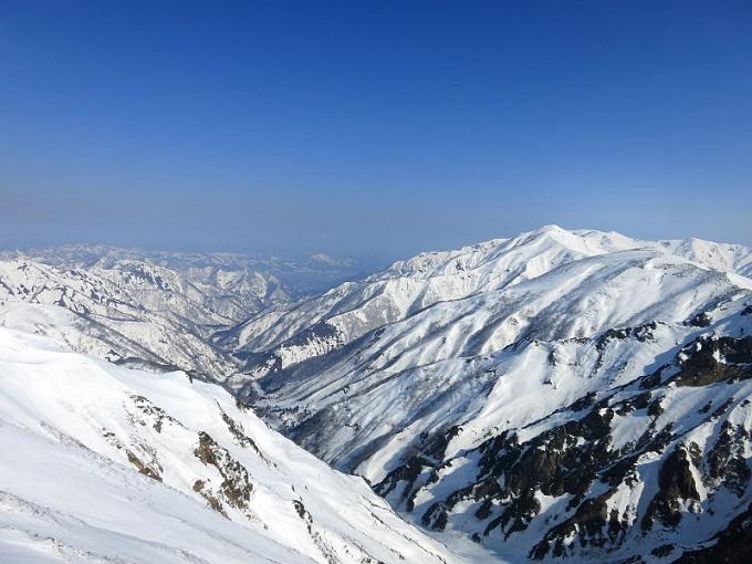 冬の谷川岳・巻機山