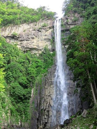 那智の滝の落差が133m