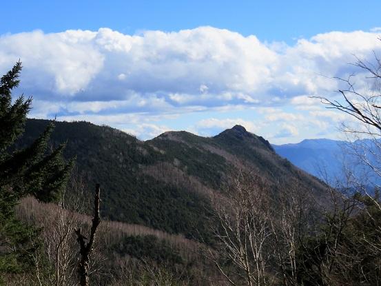 大ダオから乾徳山景色