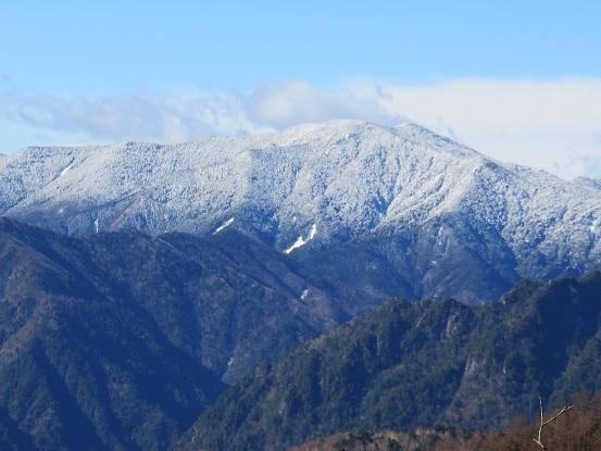 金峰山・国師ヶ岳