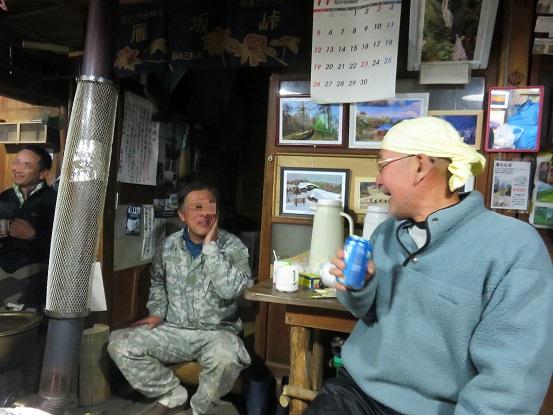 雁坂小屋の食飲研修