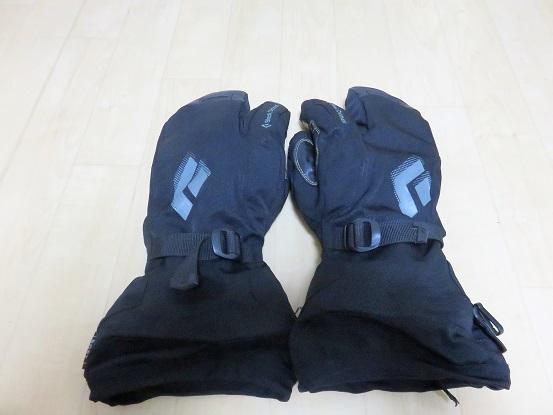 ブラックダイヤモンドソロフィンガー雪山用手袋