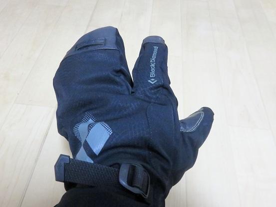 ソロイストフィンガーは3本指の防寒手袋(グローブ)