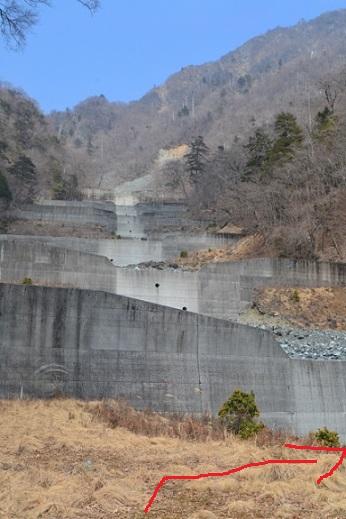 蛭ヶ岳南陵砂防ダム