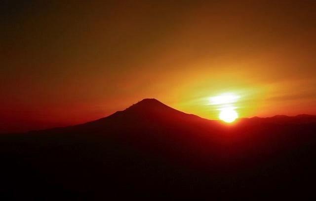 蛭ヶ岳南陵丹沢主脈縦走風景
