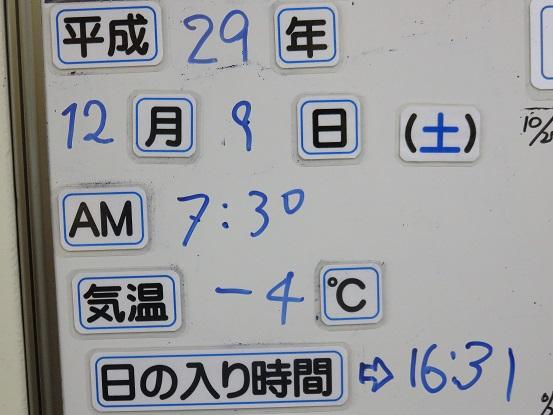 西丹沢自然教室周辺の気温