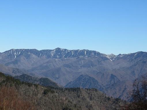 フルコンバから笠取山方面