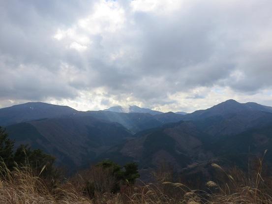 金時山・神山(大涌谷)・明神ヶ岳