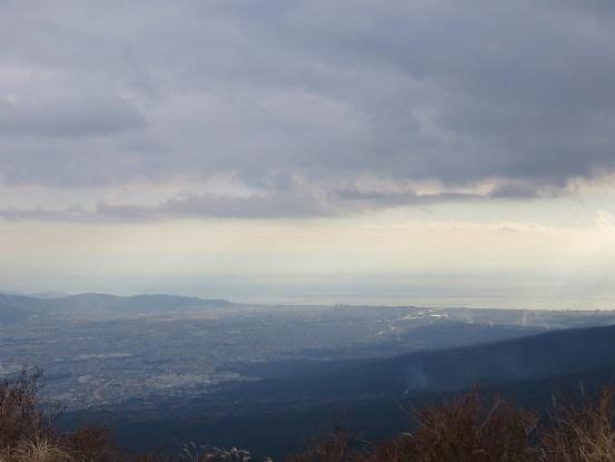 矢倉岳から相模湾