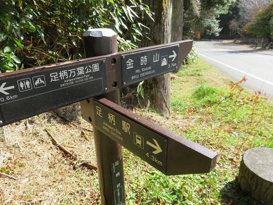 足柄峠から金時山約4kmの道のり