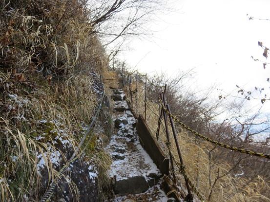 金時山の北斜面