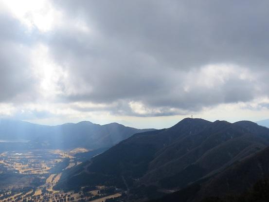金時山から先の箱根外輪山
