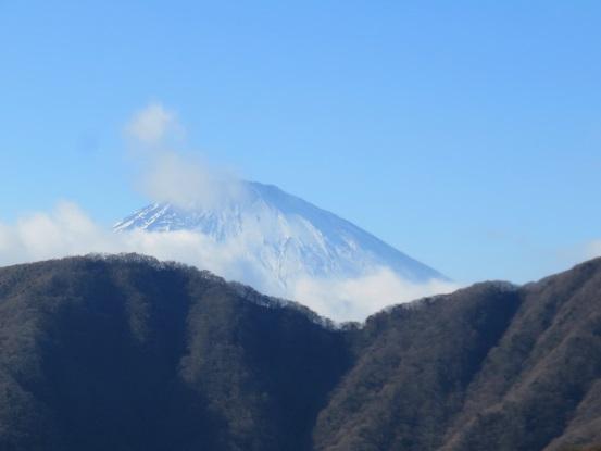 火打石岳富士山景色