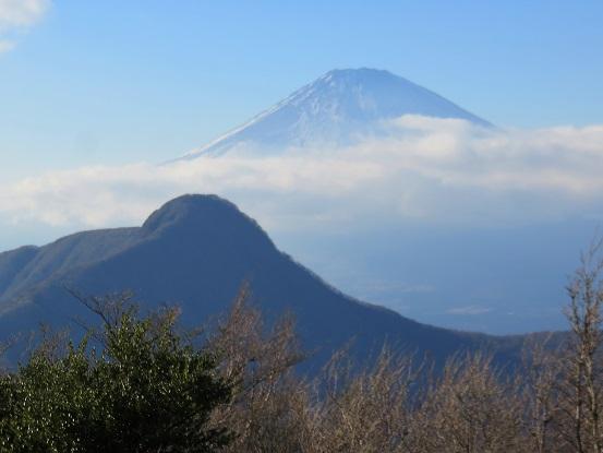 富士山と金時山雄大な景色