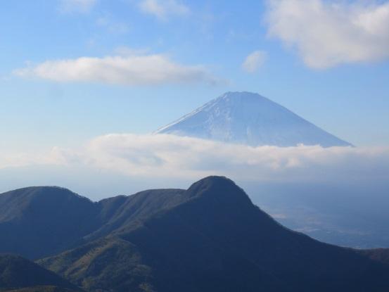 金時山・明神ヶ岳景色