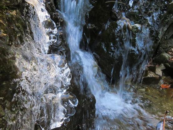 御岳山・ロックガーデン沢の流れ