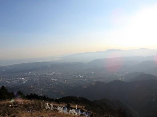 二ノ塔尾根丹沢の景色