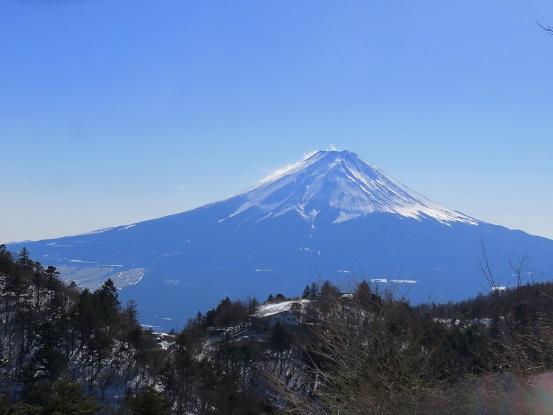 三ツ峠富士山の展望台