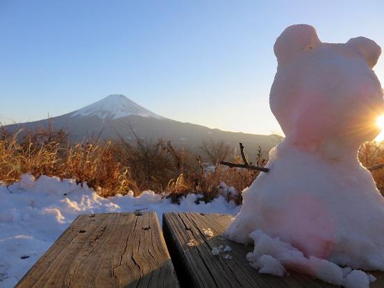 カチカチ山富士見台