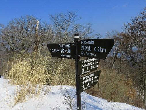 丹沢三峰経由で宮ヶ瀬湖まで約11km