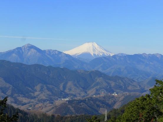 高尾山もみじ台周辺の景色
