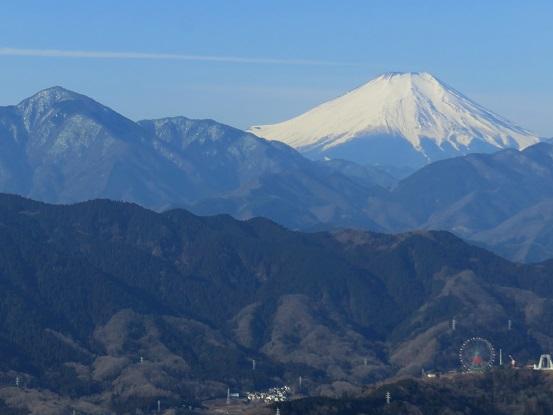 高尾山の富士山ビュースポット