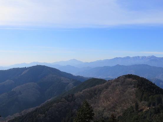 影信山から高尾山