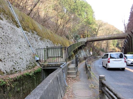 大垂水峠歩道橋