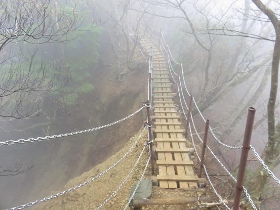 三峰山登山道