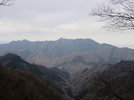 仏果山方面