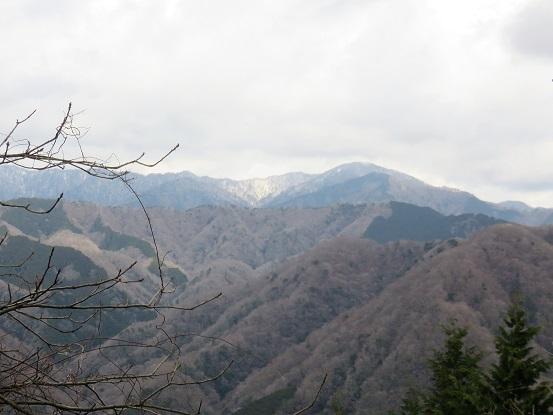 大洞山方面の景色