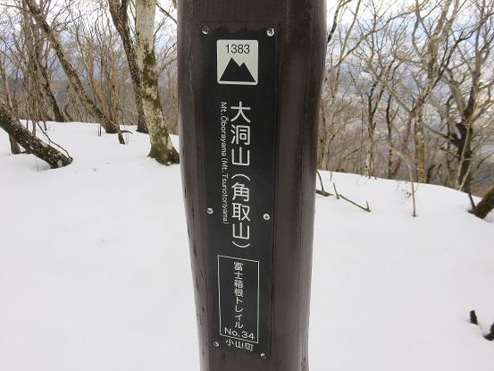 大洞山(角取山)