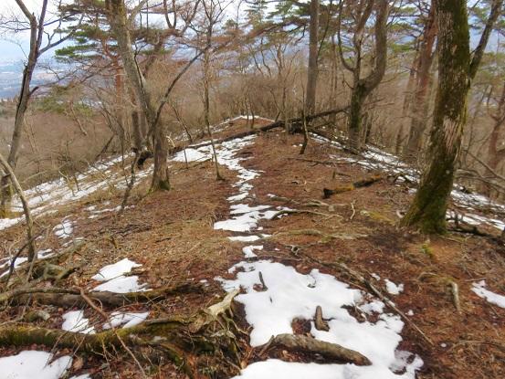 立山展望台からもルートが分かりにく