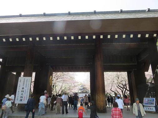 靖国神社の門