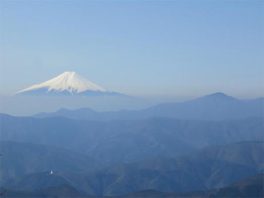 水根山から富士山が綺麗