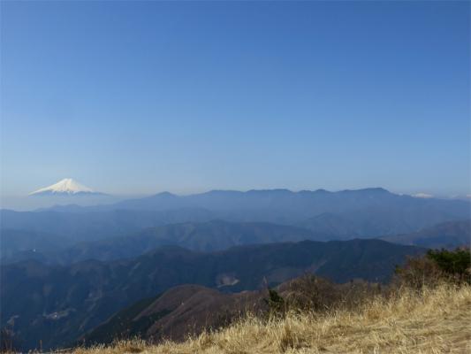 富士山と大菩薩