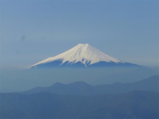 鷹ノ巣山といったら富士山の景色
