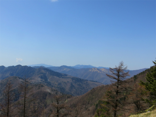 国師ヶ岳奥多摩景色