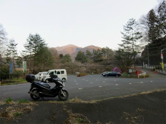 奥多摩湖周辺の無料駐車場