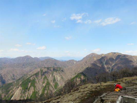 丹沢最高峰蛭ヶ岳