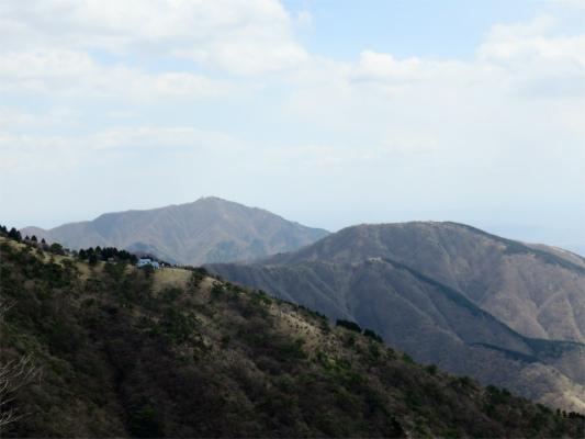 三ノ塔と大山
