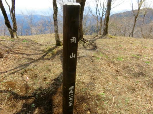 雨山(標高1,176m)
