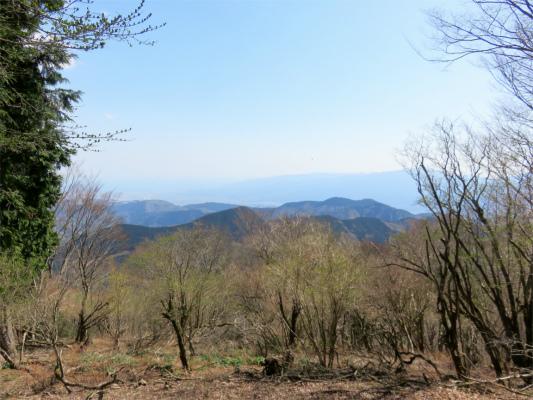 ジダンゴ山方面