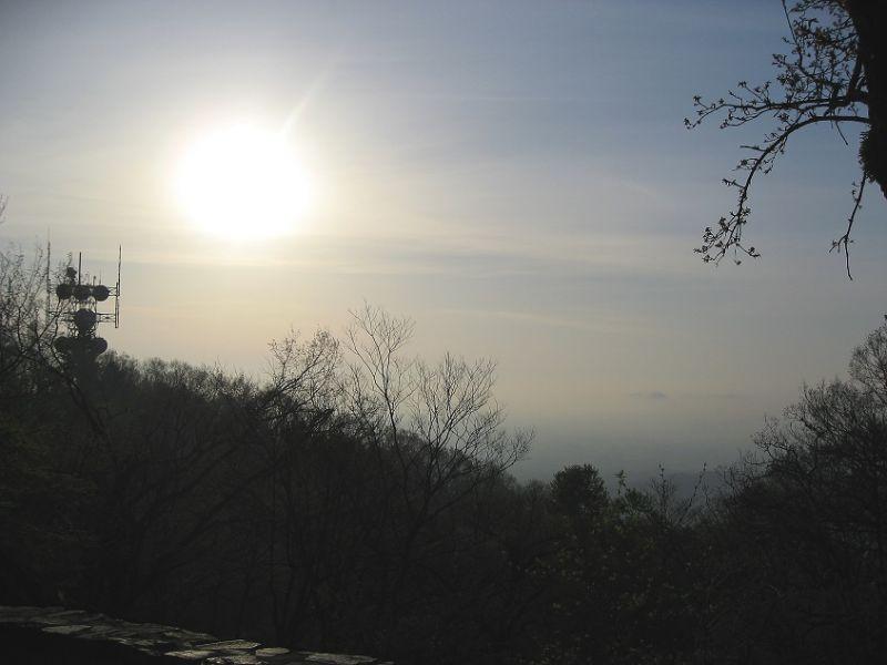 高尾山景色