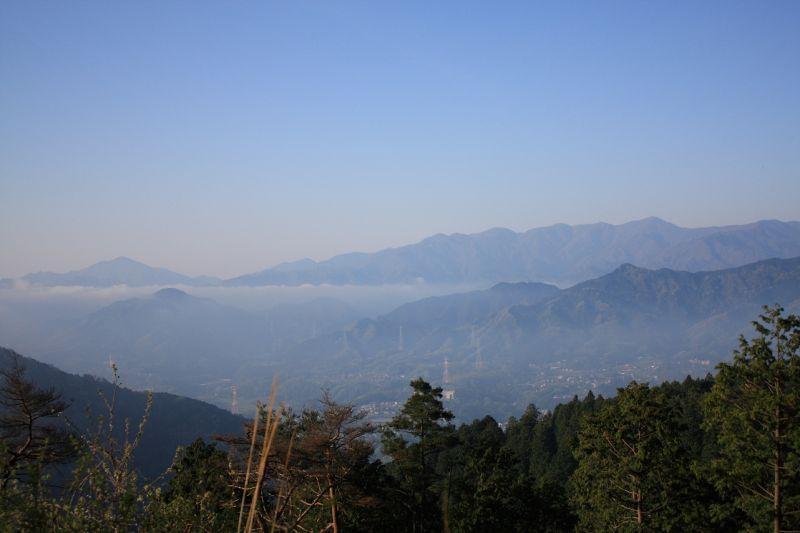 大山から丹沢表尾根