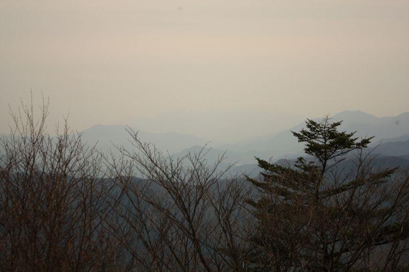 三頭山(西峰)展望
