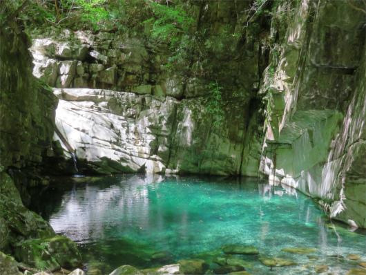 双門の滝コース見どころ釜滝