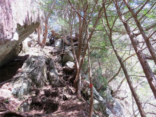 双門の滝周辺登山道