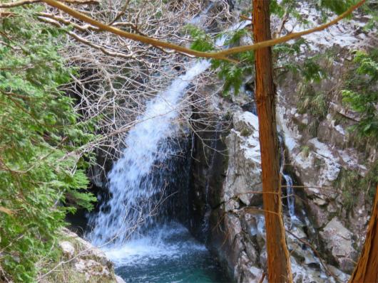 大小さまざまな滝