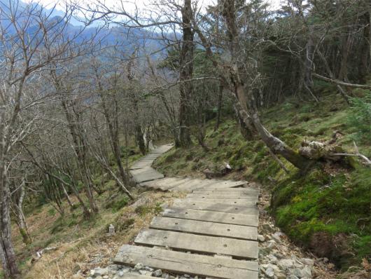 階段ヘアピンカーブ